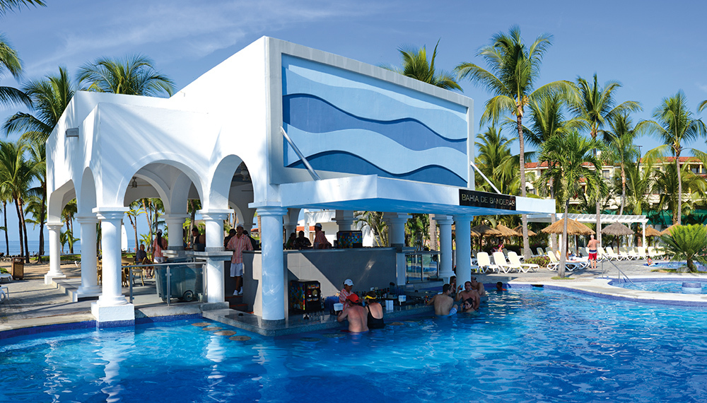 Swim Up Bar Puerto Vallarta Riu Jalisco
