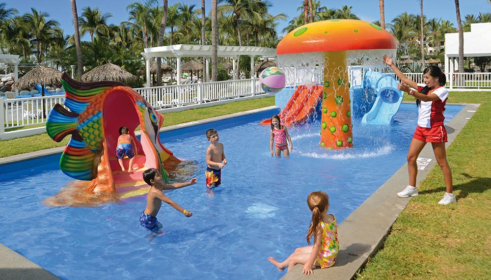 Kids Waterpark Riu Jalisco Puerto Vallarta