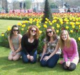 Mountbatten Trainees enjoying Spring in London