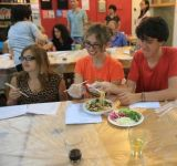 CIP participants at social activities