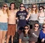 Celebrating the San Juan festival on the beach!