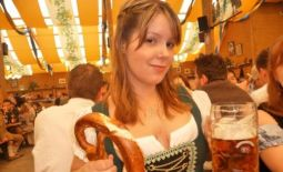 At the Octoberfest