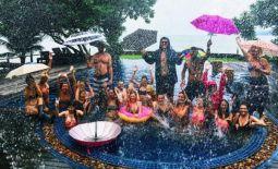 Our training group- Having fun rain or shine!