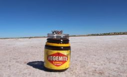 Fun on a salt lake in the middle of the Outback