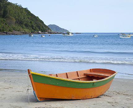 ISA Students enjoying the beach & the sun in Brazil