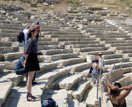 PAA - tourists exploring ancient ruins