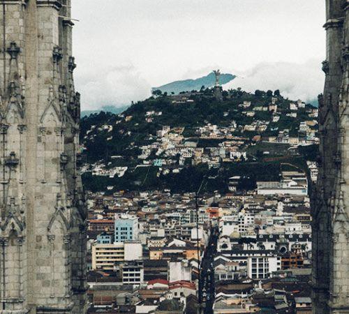 Quito, Ecuador clocktower