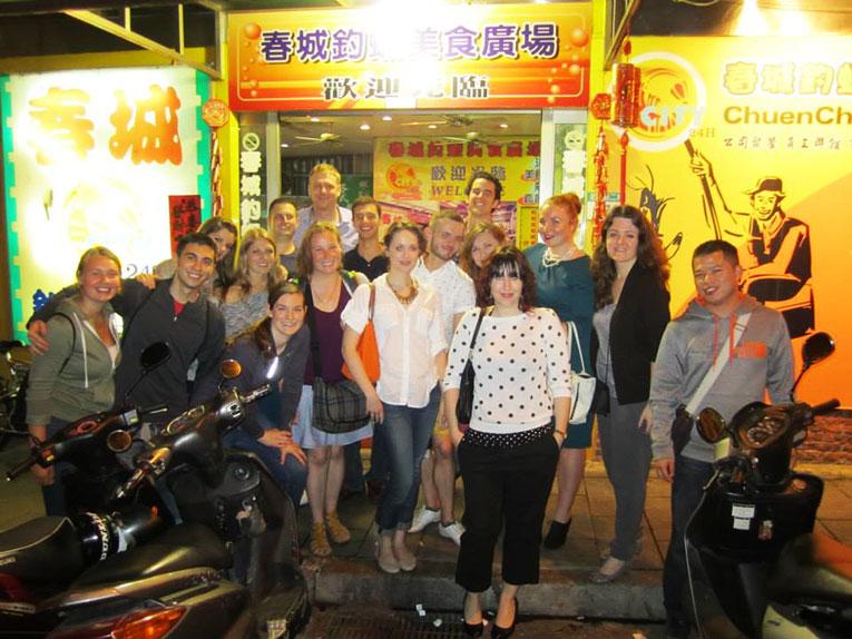English teachers in Taiwan