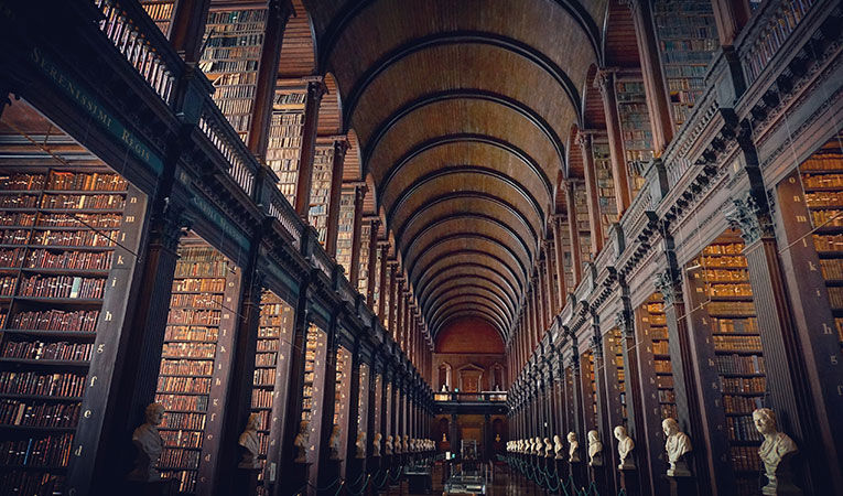 Library at Trinity College, Dublin
