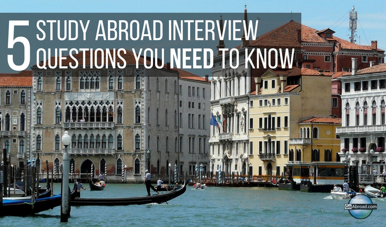 5 study abroad interview questions you need to know