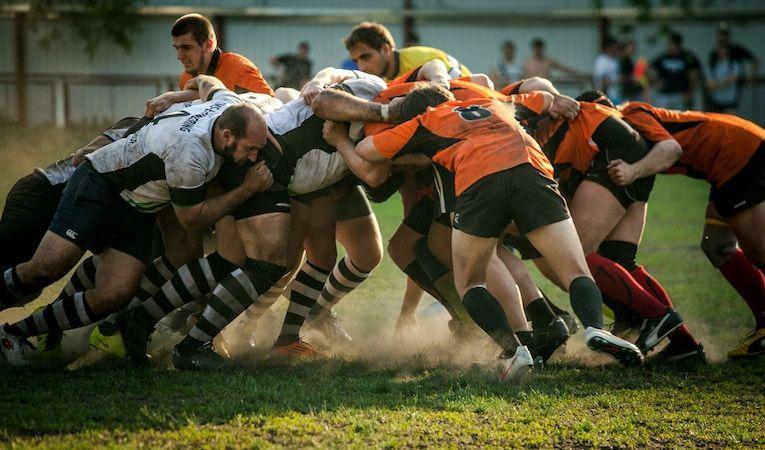 rugby match in australia