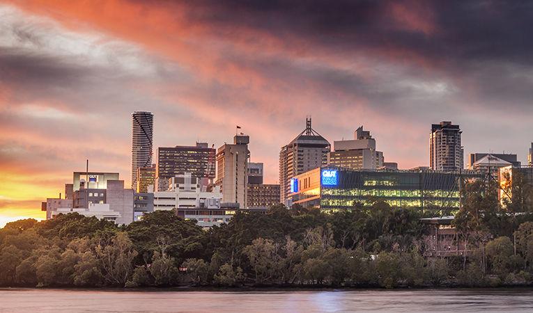QUT campus in Australia