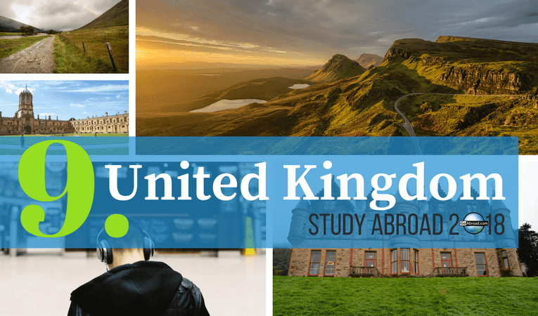 Top countries for study abroad in 2018