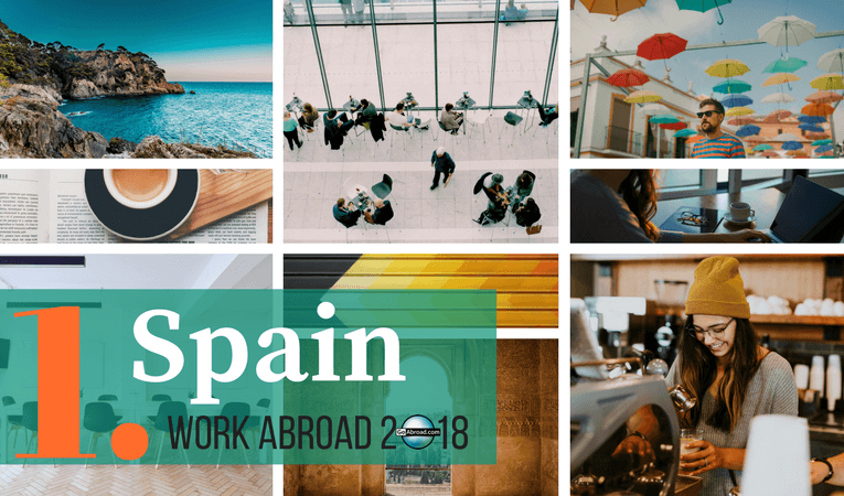 Top destinations for work abroad in 2018