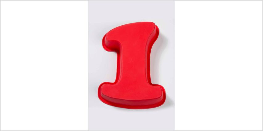 Silicone Number Cake Moulds from Studio