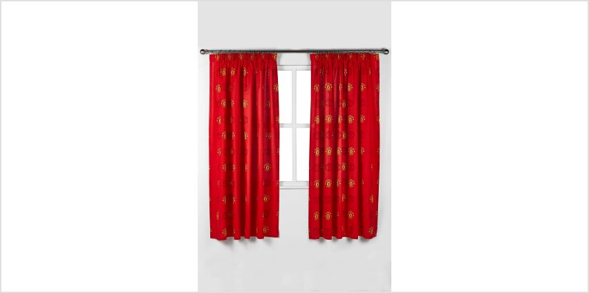 Manchester United FC Curtains from Studio