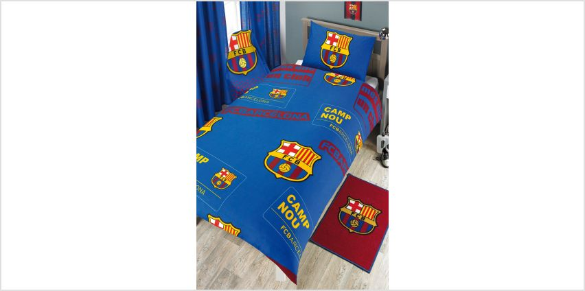FC Barcelona Crest Rug from Studio