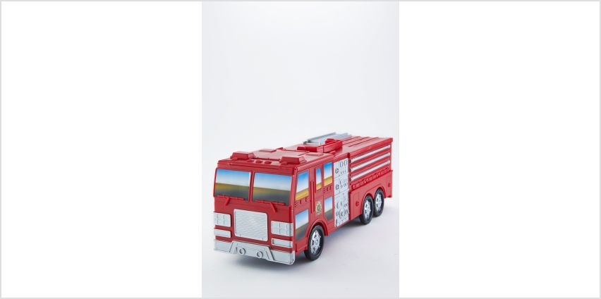 Motor Max Take Along Fire Station Playset from Studio