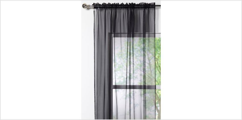 Pair of Voile Curtains from Studio