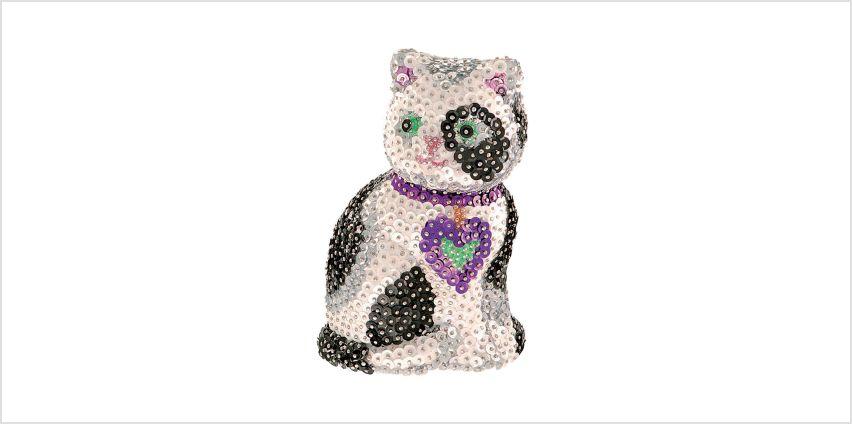 Sequin Art 3D Cat from Studio