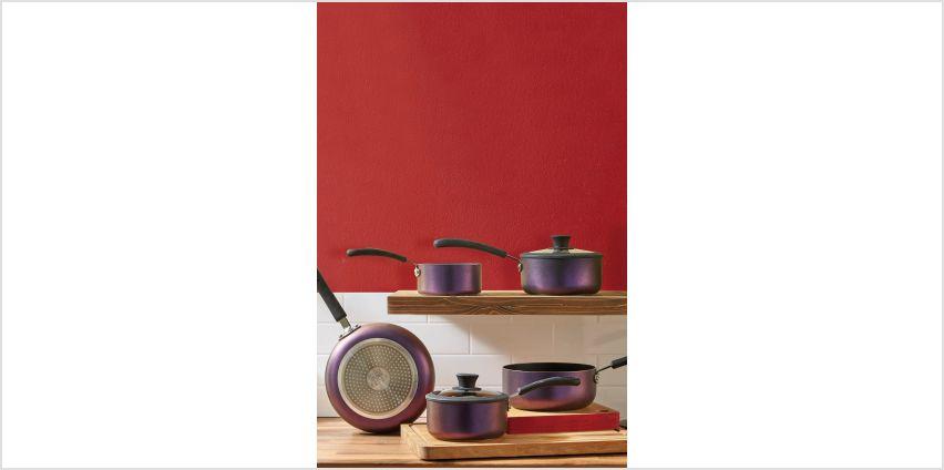 5-Piece Iridescent Pan Set from Studio