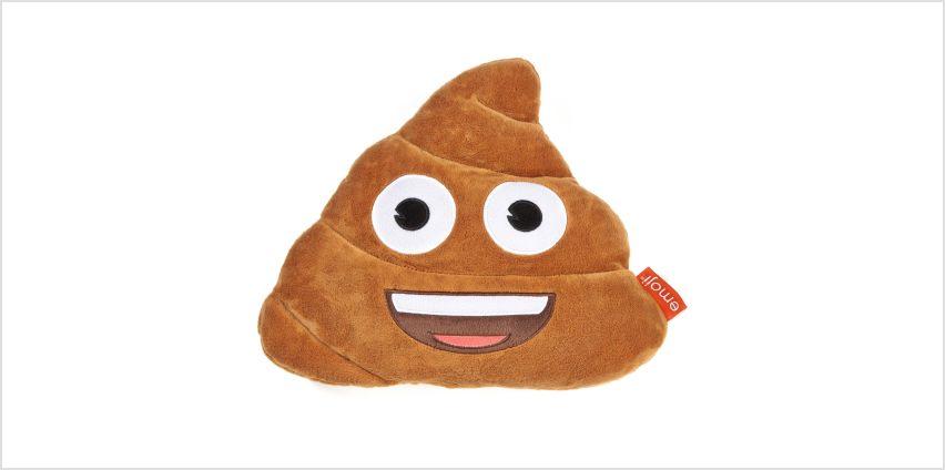 Emoji Poop Cushion from Studio