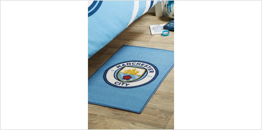 Manchester City FC Crest Rug from Studio