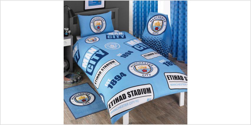 Manchester City FC Double Duvet Set from Studio