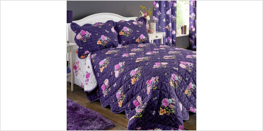 Floral Dreams Pair Of Pillowshams from Studio