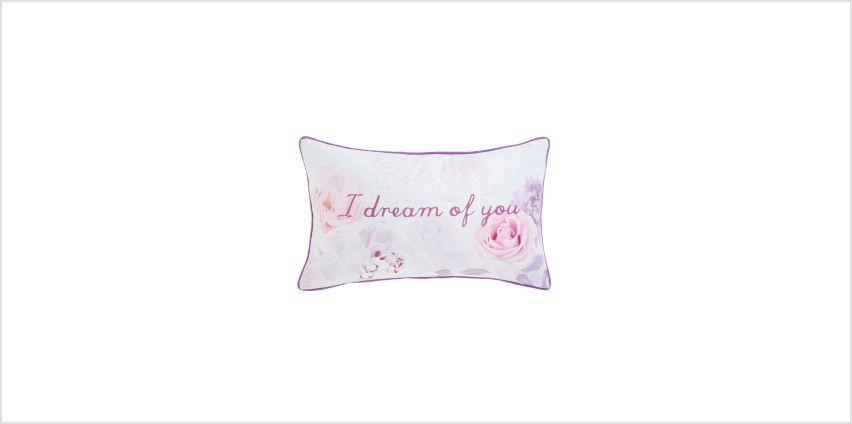 I Dream Of You Boudoir Filled Cushion from Studio