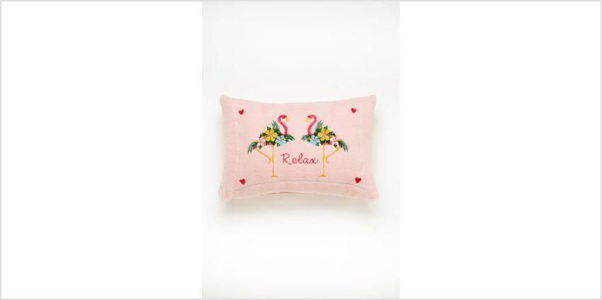 Floral Flamingo Bath Pillow from Studio