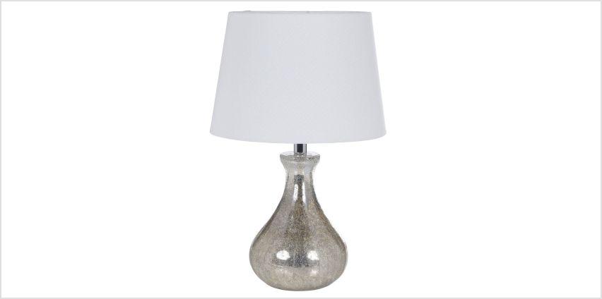 Ardington Twin Bulb Glass Table Lamp from Studio
