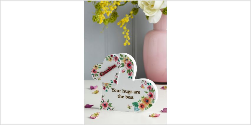 Love Heart Plaque Grandma from Studio
