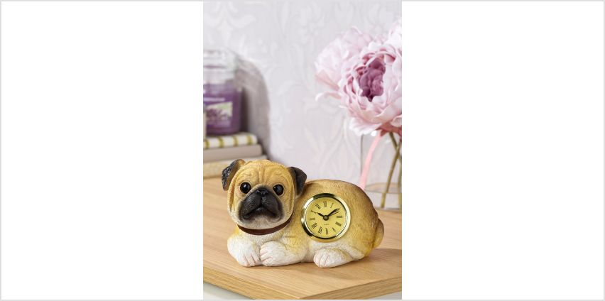 Pug Clock from Studio