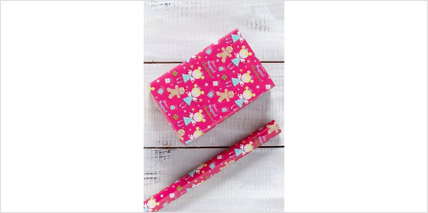 Pink Fairy Wrapping Paper from Studio