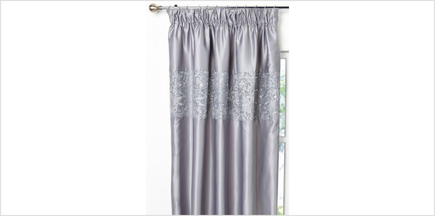 Meghan Pencil Pleat Curtains from Studio