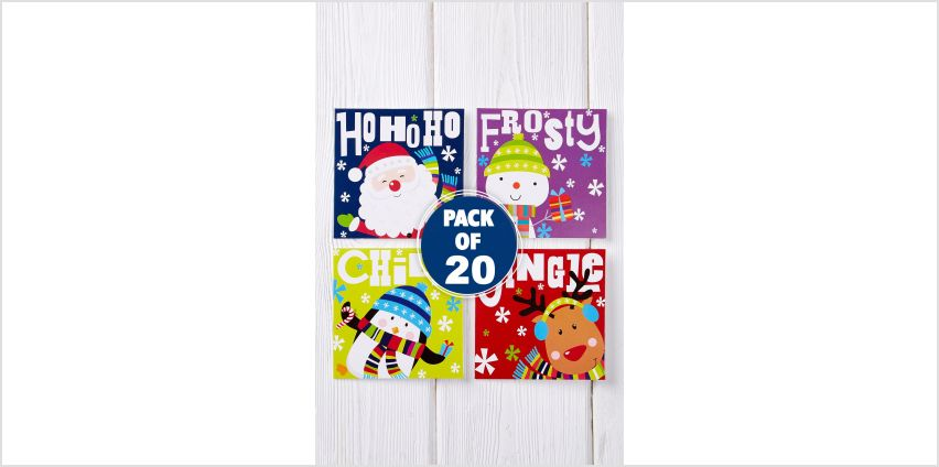 20 Bright Character Mini Cards from Studio