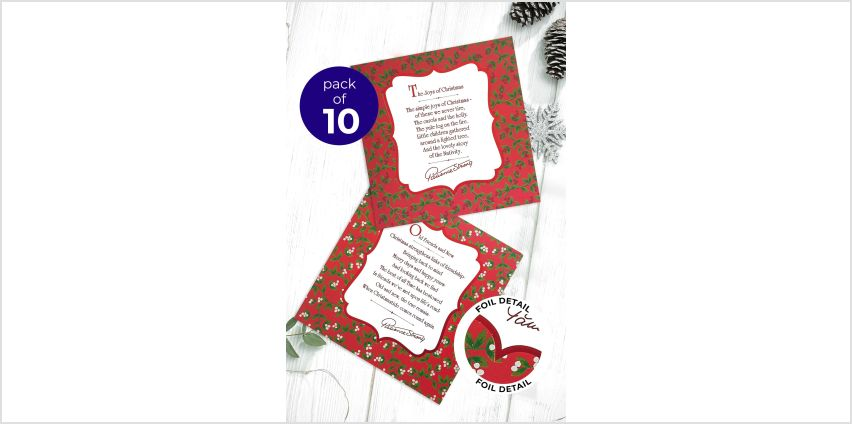 10 Patience Strong Christmas Cards from Studio