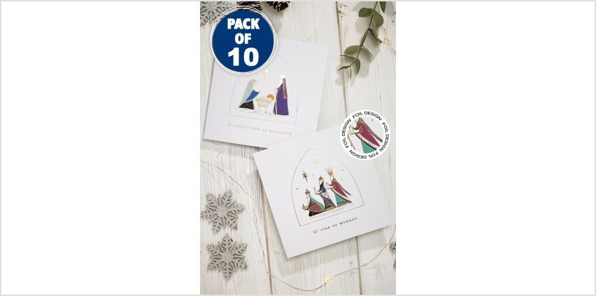 10 Star of Wonder Christmas Cards from Studio