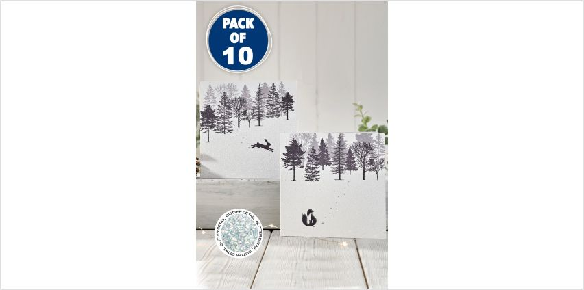 10 Forest Friends Cards from Studio