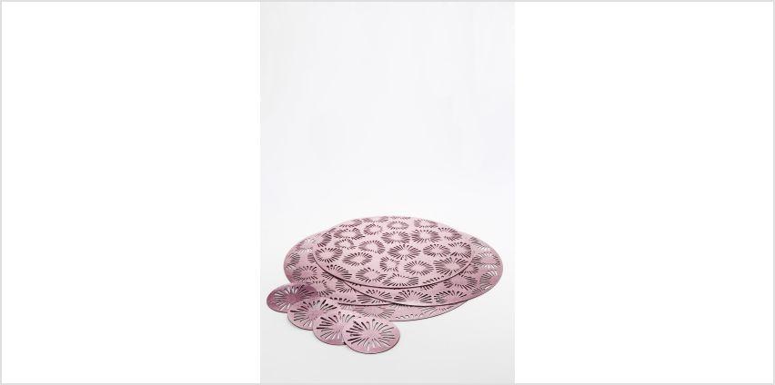 Set of 4 Placemats and Coasters from Studio