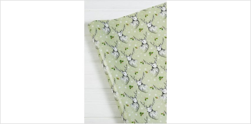 Stag Wrapping Paper from Studio