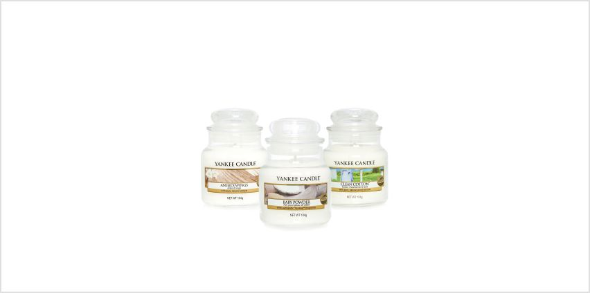 Yankee Candle Pure Small Jar Set from Studio