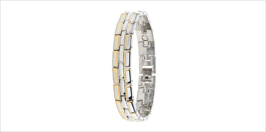 Magnetic Two Tone Bracelet from Studio