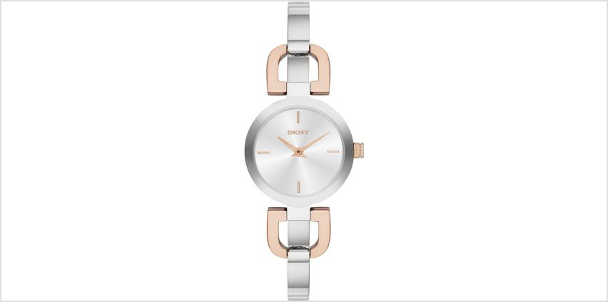 DKNY Two Tone Steel Bangle Watch from Studio