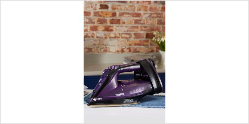 Tower Corded/Cordless Iron from Studio