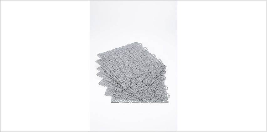 Pack Of 7 Interlocking Click Floor Tiles from Studio