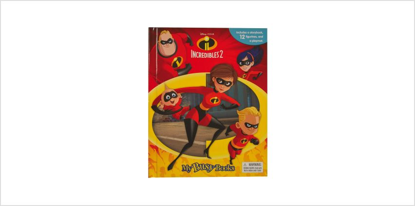 Incredibles 2 My Busy Book from Studio
