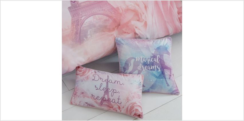 Magical Dreams Boudoir Filled Cushion from Studio