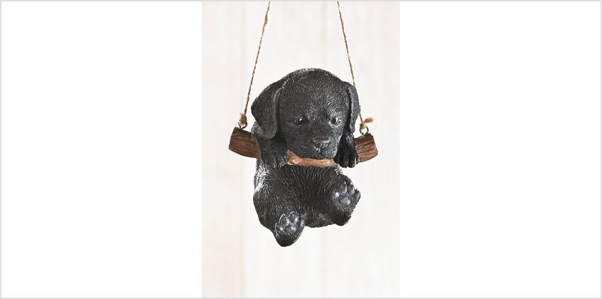 Rocking Pet Pals Hanging Ornament Black Labrador from Studio